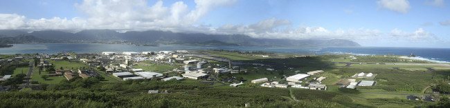 Kaneohe Marine Base O'ahu, Hawaii